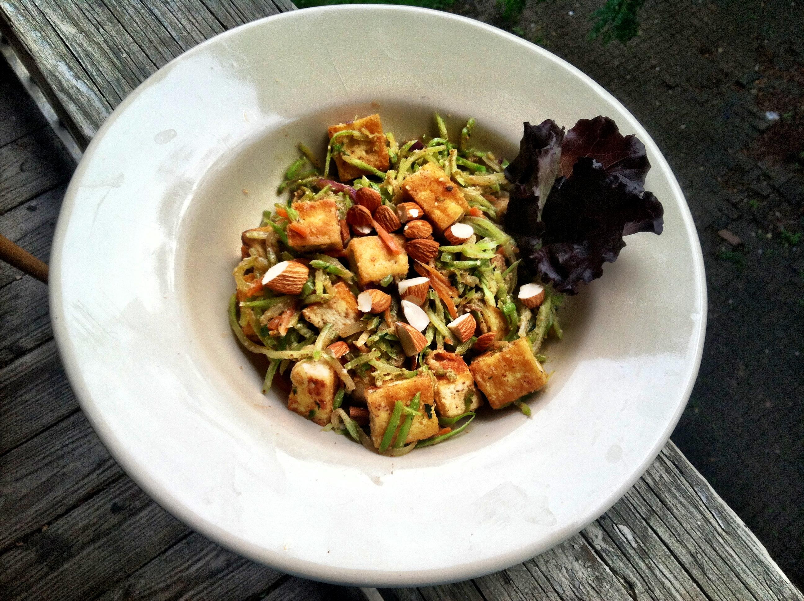 Broccoli, Tofu And Almond Stirfry Recipes — Dishmaps